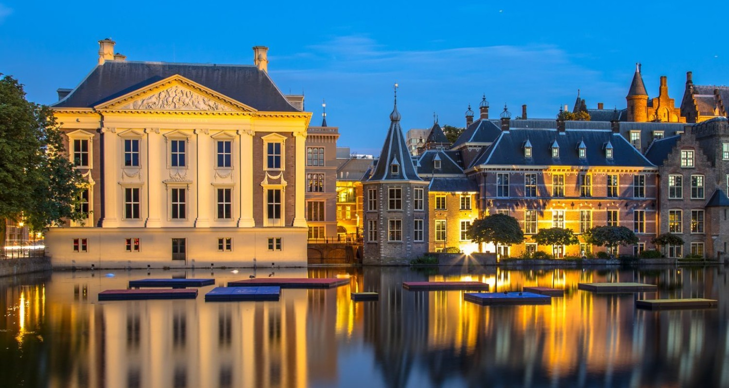 Parliament Binnenhof And Mauritshuis The Hague P8Utyeg 1